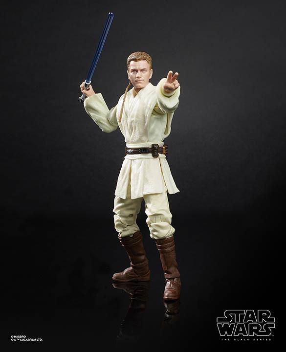 令人懷念的超讚吊卡包裝! 孩之寶 黑標6吋人物系列《星際大戰首部曲:威脅潛伏》達斯·魔&歐比王·肯諾比 Darth Maul and young Obi-Wan Kenobi【星戰慶典限定】