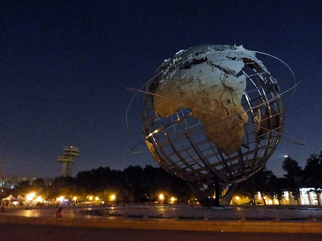 Unisphere at Night