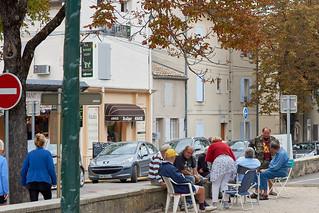 Gathering, St-Remy-de-Provence