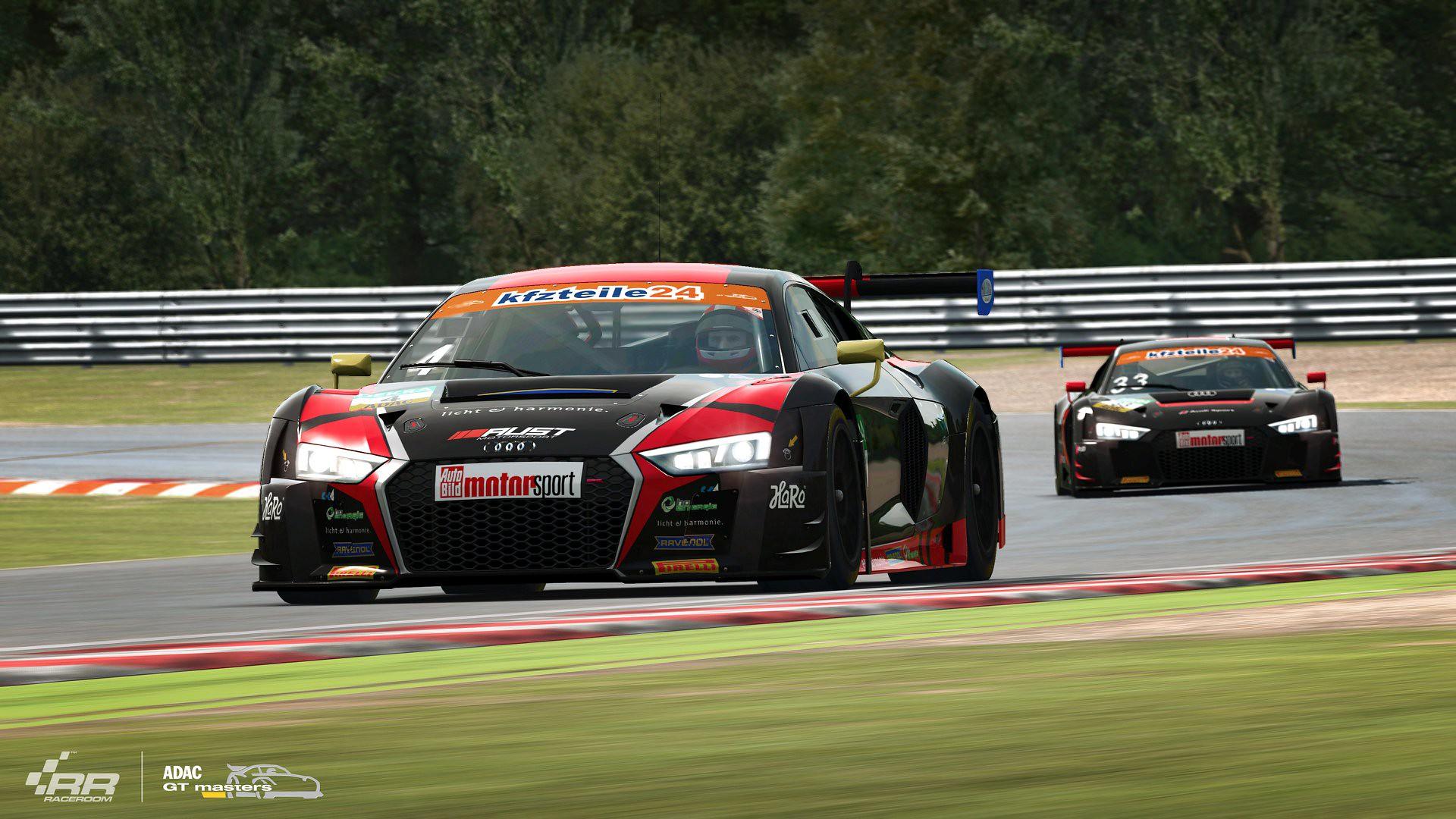 RaceRoom 2018 ADAC GT Audi 7