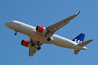 LN-RGN   Airbus A320-251NSL [7341] (SAS Scandinavian Airlines) Home~G 02/07/2017   by raybarber2