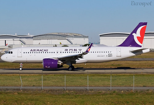 F-WWBY Airbus A320 Neo Air Macau | by @Eurospot