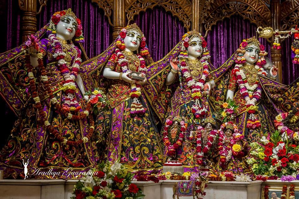 ISKCON Mayapur Deity Darshan 20 Feb 2019 (24) | ISKCON desire tree