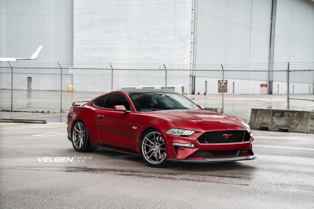 18 Mustang Gt Velgen Wheels Light Weight Series Vf5 Gloss