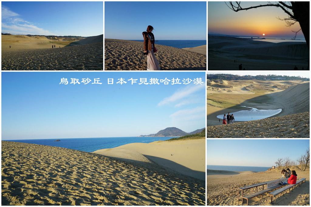 鳥取砂丘 日本規模最大的海岸砂丘