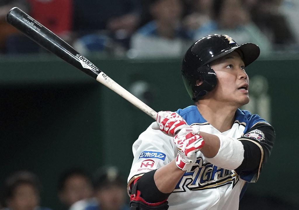 王柏融。 (資料照。AP Photo/Eugene Hoshiko)