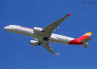 F-WZGK Airbus A350 Iberia