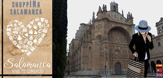 Nueva imagen de los tarjetones de ShoppINg Salamanca con el Convento de San Esteban de protagonista. | by Agencia PYME.info