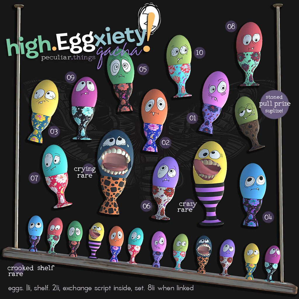 PROMO pt high eggxiety gacha Apr 2019