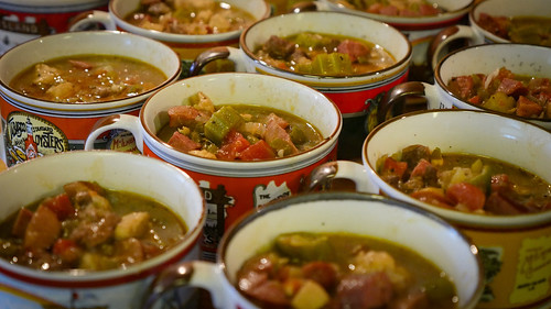 Photo of soups made with duck meat