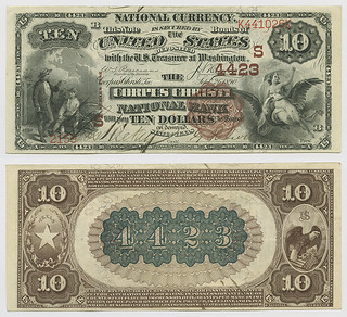 United States $10.00 (ten dollars) national currency | by SMU Libraries Digital Collections