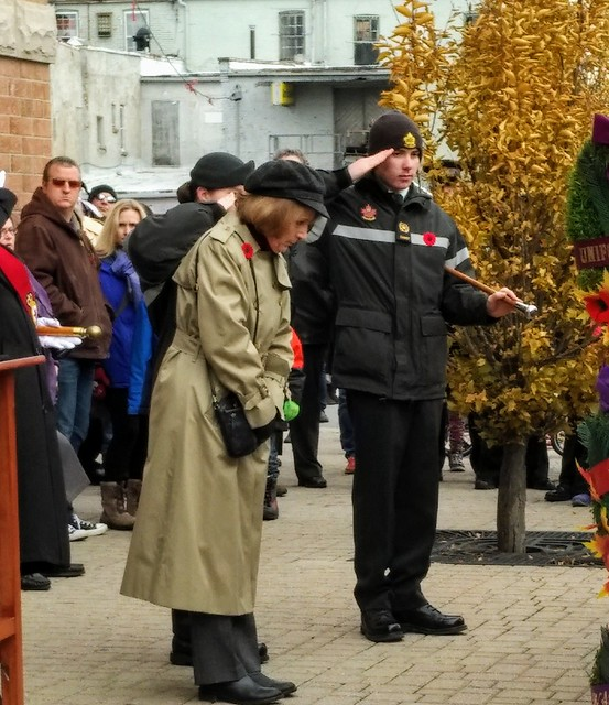 Remembrance Day Laying of Wreaths