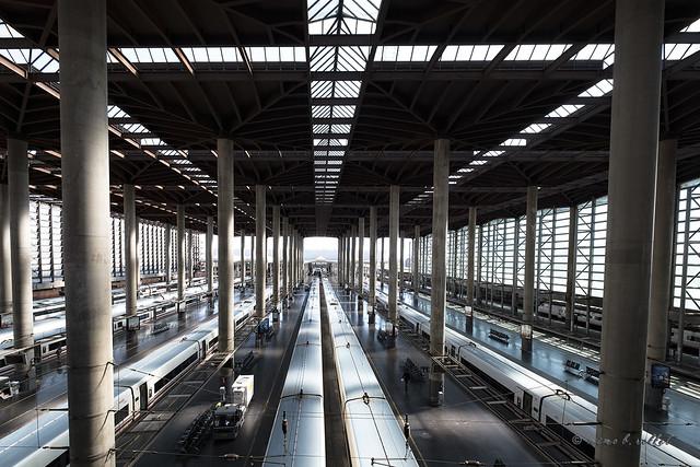Six trains and a half