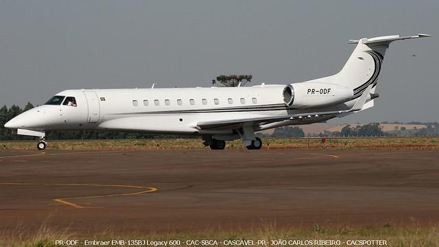 PR-ODF - Embraer EMB-135BJ Legacy 600