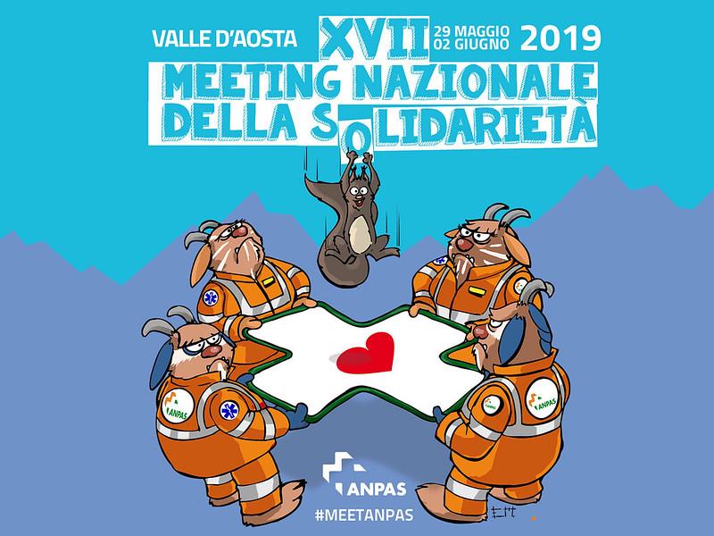 XVII meeting Anpas, Valle d'Aosta 29 maggio/2 giugno 2019