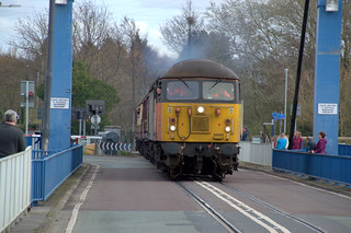Engine on the swingbridge at Preston Docks | by Tony Worrall