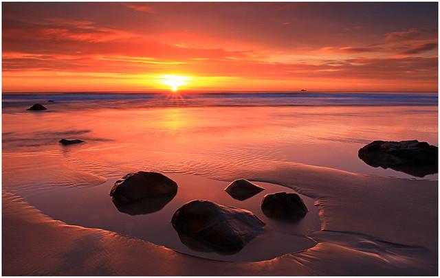 Sunrise At Lunan Bay