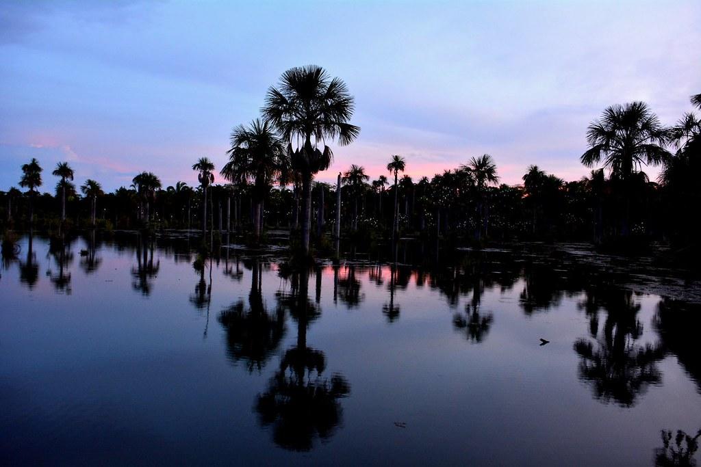 Sunset at the Araras Lagoon / Pôr do sol na Lagoa de Araras