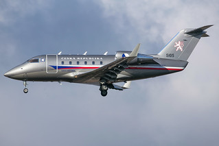Czech Air Force CL-600 5105 | by wapo84