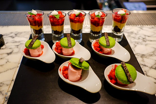 Opera de Pistachio and Strawberry parfait | by A. Wee