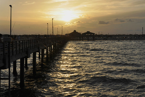 corpuschristi texas usa water sea bay ocean coast coastline people beach waterfront padreisland bobhallpier eveningcolours sky sunset pier sun eveningsky clouds dusk skyline city dnysmphotography dnysmsmugmugcom