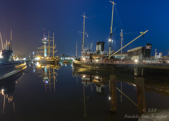 Museumshafen des DSM in Bremerhaven