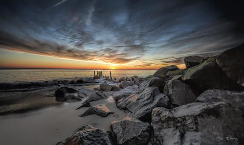 batteryherring ftmiles capehenlopen lewes delaware sunrise water atlantic