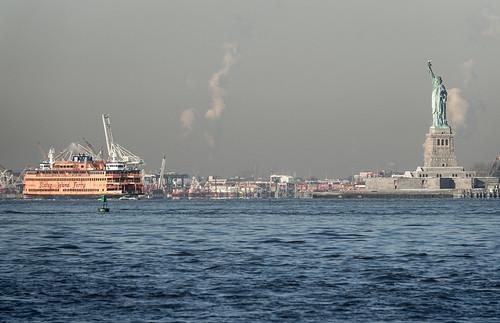 New York City / Staten Island Ferry / Statue of Liberty   by Aviller71
