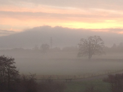 bath bathampton river avon fog sunrise north east somerset