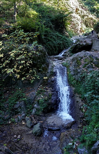 nature view landscape waterfall kabodwal iran persia travel toursim water river jungle forest