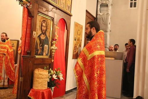 Пасхальное Богослужение в Свято-Никольском храме станицы Кавказской IMG_1345