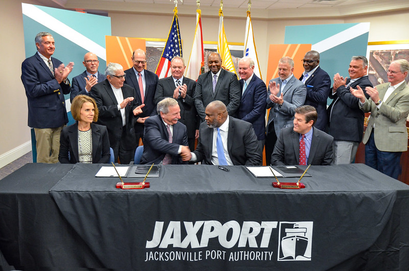 JAXPORT and SSA Marine reach long-term agreement on $238.7 million international container terminal at Blount Island