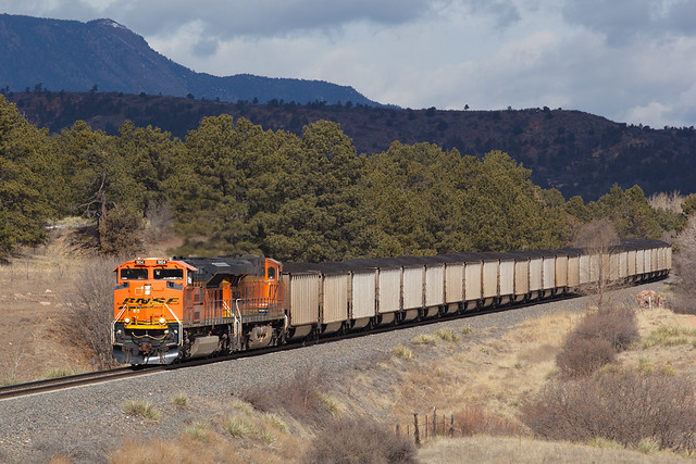 BNSF 9104 Colorado Springs 1 Mar 19