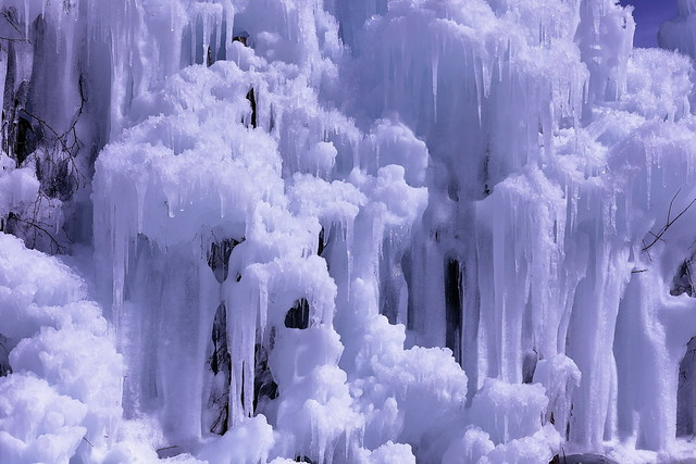 It is known for frost-covered trees which can be viewed in winter.