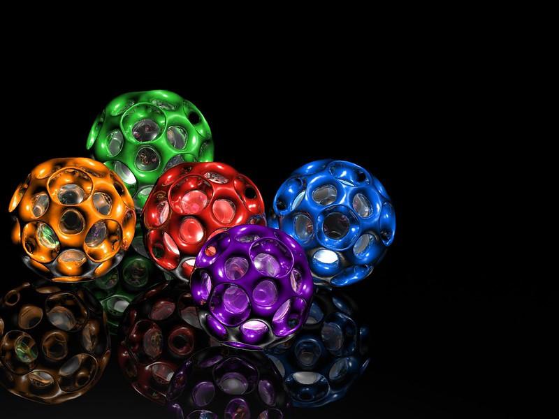 Обои форма, разноцветный, шары картинки на рабочий стол, фото скачать бесплатно