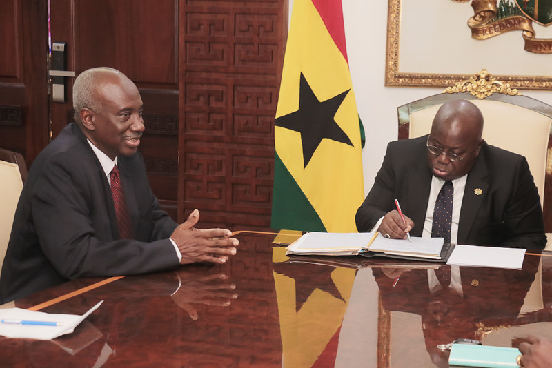 Accra March 2019 - Meeting with President of Ghana