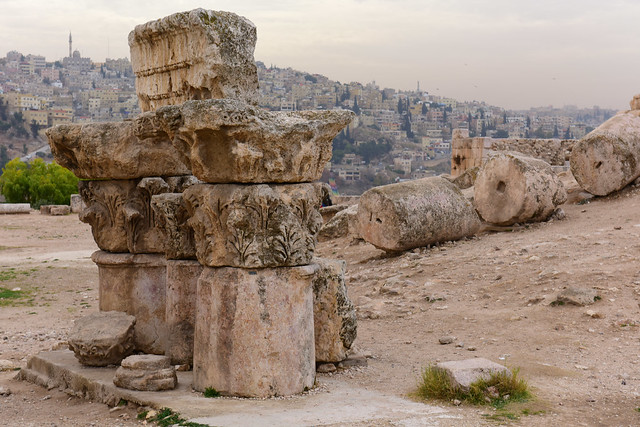 Jabal al-Qal'a (The Citadel), Jordan, January 2018 011
