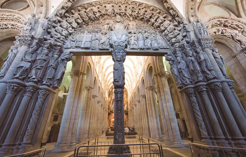 Portal of Glory, Santiago de Compostela, Spain