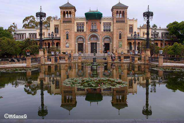Museo Mudejar, Plaza de América, Parque de Mª Luisa, Sevilla