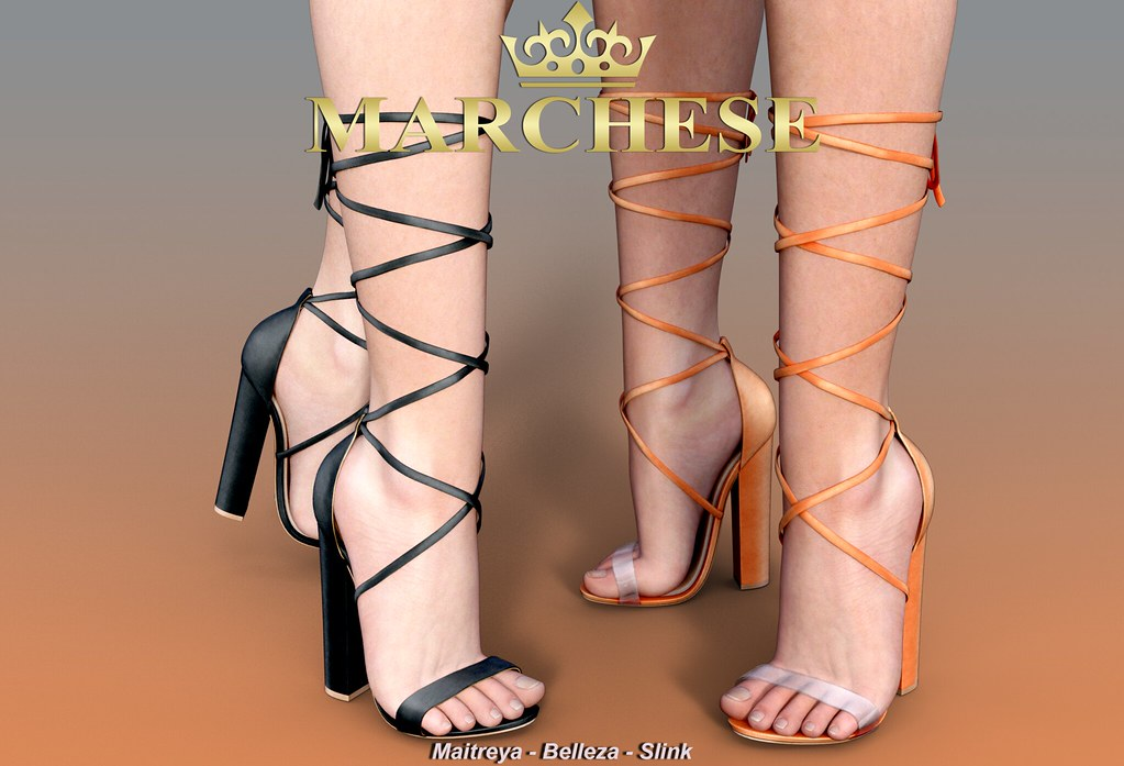 Marchese - Marina High Heels @The Galleria Mall - TeleportHub.com Live!