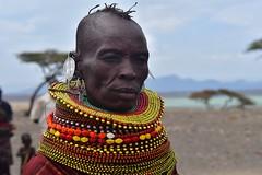 Kenya- Turkana woman- Loyangalani