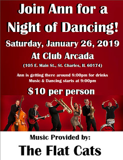 🎵 REMINDER! Ann's 1st Dancing Outing of 2019 is Coming Soon!! 🎶 - http://bit.ly/2VG7LNF | by celebritydance