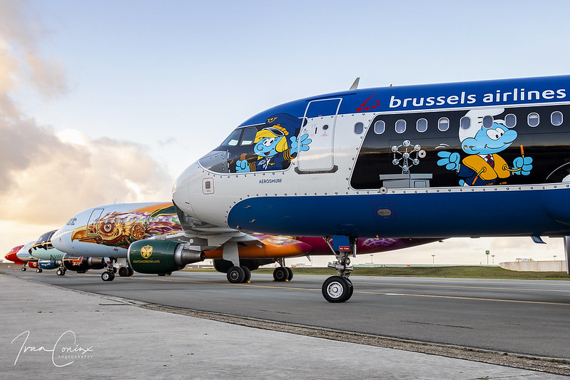Meet & Greet Brussels Airlines Belgian Icons – Brussels Airport (BRU EBBR) – 2019 01 14 – 01 – Copyright © 2019 Ivan Coninx