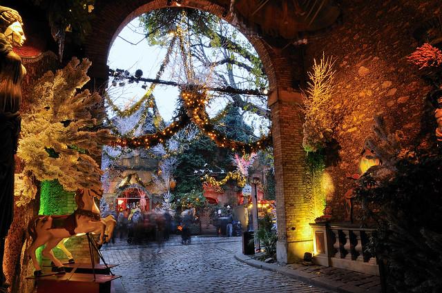 Last lights of new year's day  -  Dernières lumières du jour de l'an