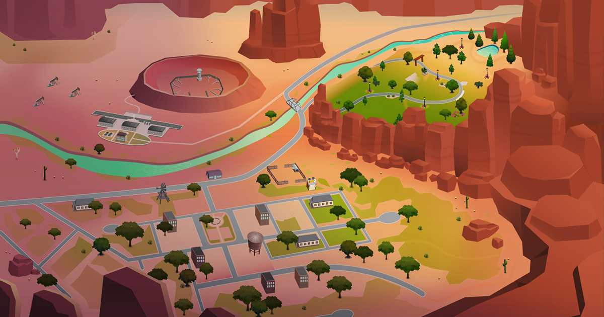 Photo of The Sims 4 StrangerVille: Imagem do Mapa do Novo Mundo do Jogo