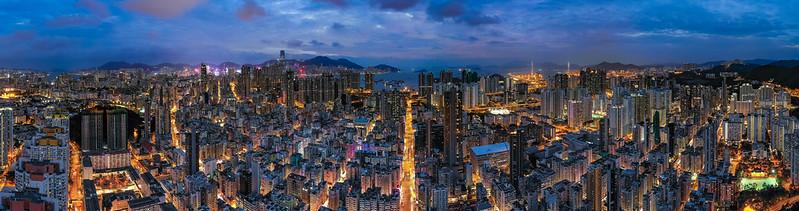 嘉頓山夜景|香港