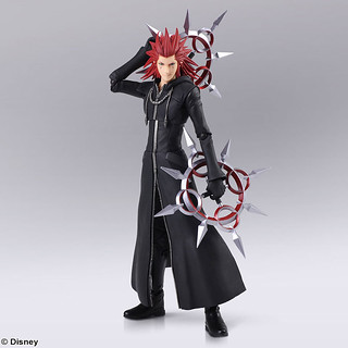 BRING ARTS 《王國之心III》「亞克賽爾」!KINGDOM HEARTS III BRING ARTS アクセル