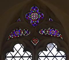 decorative glass (probably Thomas Baillie, 1861)