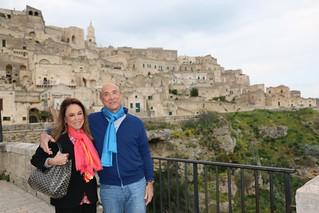 L'Ambasciatore Eisenberg a Grottaglie e a Matera
