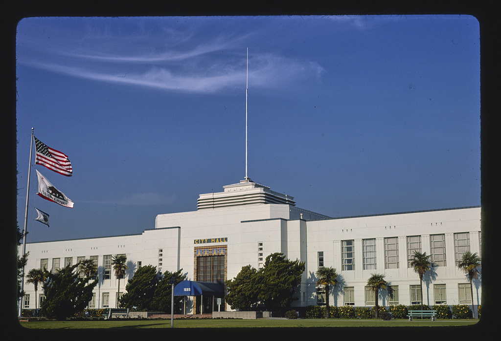 City Hall, Main Street, Santa Monica, California (LOC)